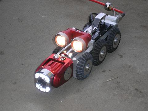 kamera IPEK na wózku
